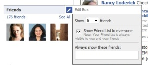 Facebook Friend Privacy
