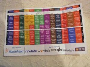 wordcamp nyc 2012 schedule