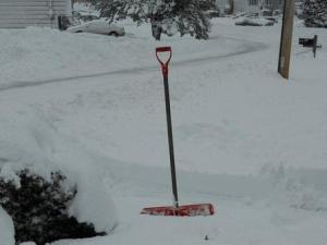 zen of snow shoveling