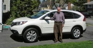 Ken with new car