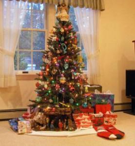 nancy christmas tree