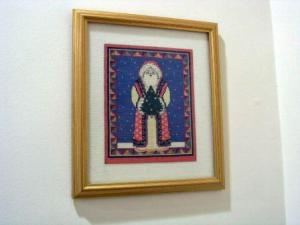 nancy cross stitch santa claus