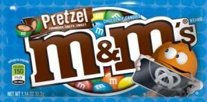 pretzel m & m