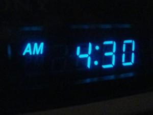 430 am clock