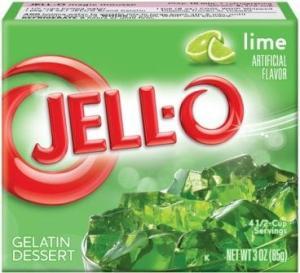 lime jello - yum