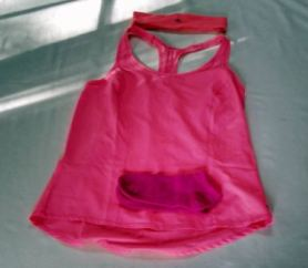 nancy pink exercise clothes