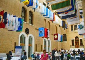 mass state house hall of flags