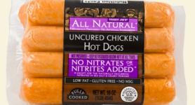 trader joes chicken hot dogs