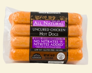 trader joes chicken hot dogs
