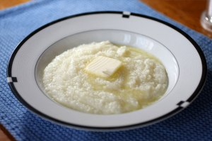 grits with butter
