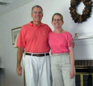 ken and nancy in matching outfits