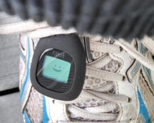 fitbit with smiley face