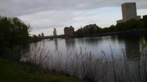 view from charles river