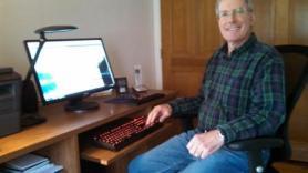 mr ken and geeky keyboard