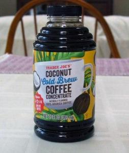 cold brew coconut coffee