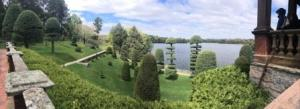 hunnewell estate topiary garden