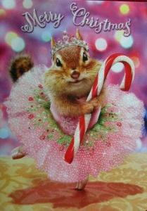 christmas chipmunk
