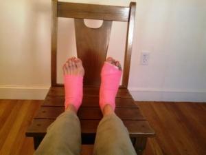 foot surgery again