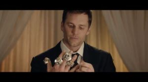 tom brady with super bowl rings
