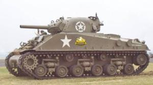 ww2 sherman tank