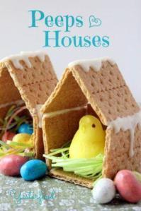 Peeps Easter house