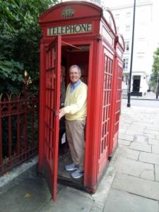 ken in london phone booth