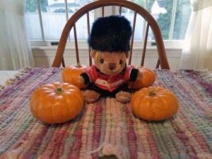 Sir Oliver and his pumpkins