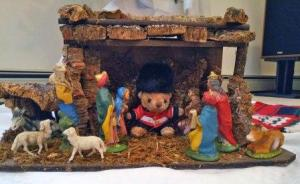 Sir Oliver in the creche