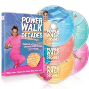 Gina B power walk
