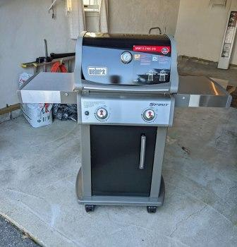 new assembled grill