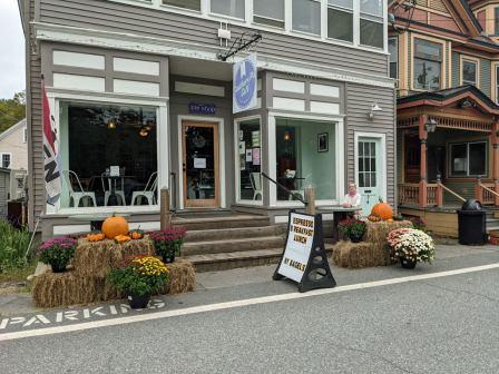 Chester VT coffee shop